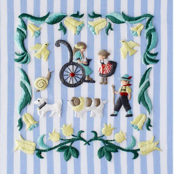 アンナス 刺繍
